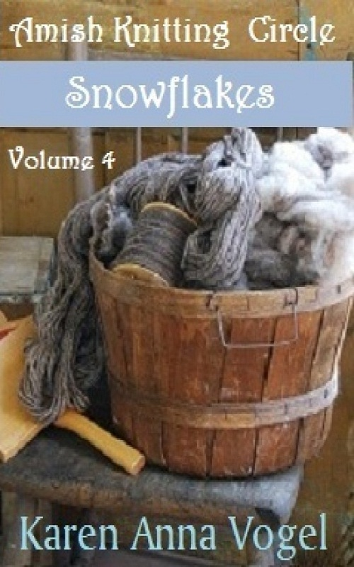 Amish Knitting Circle- Volume 4- Snowflakes By: Karen Anna Vogel