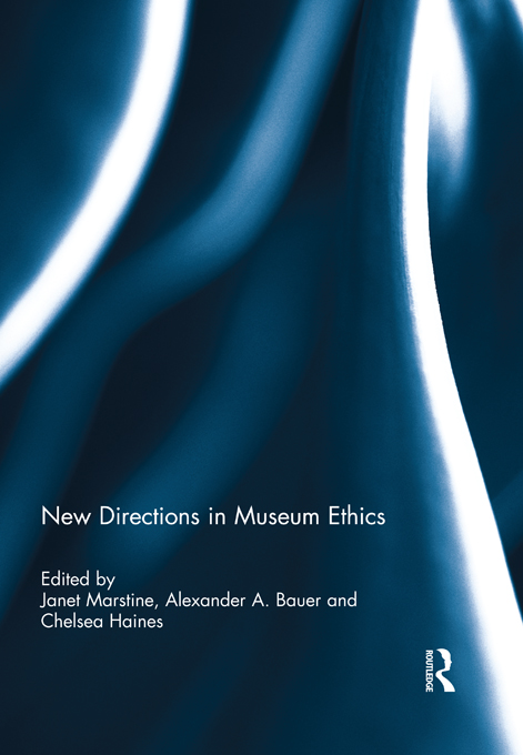 New Directions in Museum Ethics