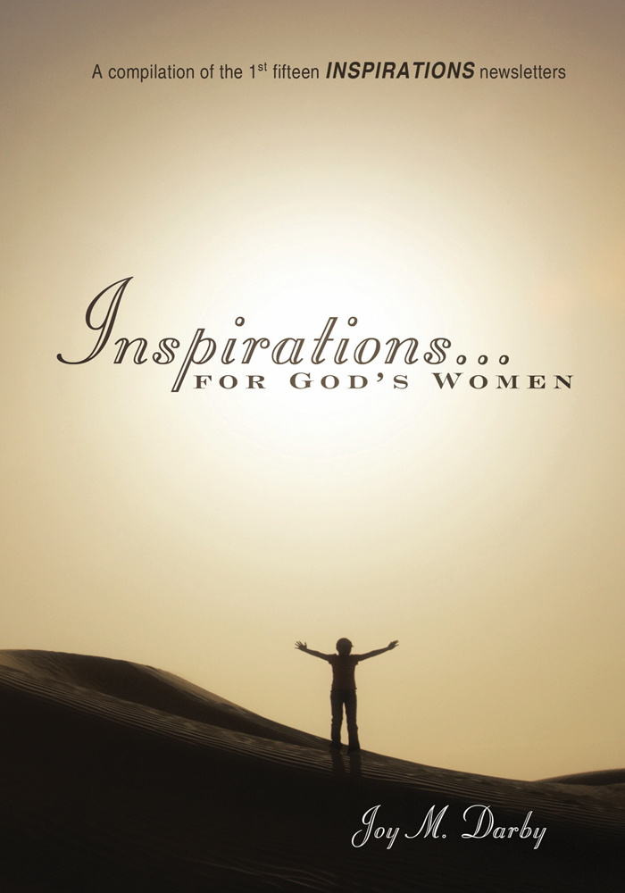 Inspirations...for God's Women