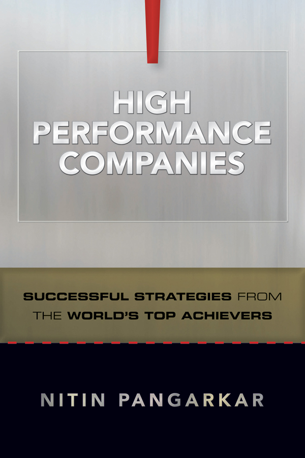 High Performance Companies By: Nitin Pangarkar