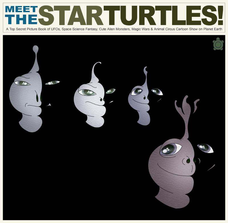 Meet the Star Turtles (Not Beatles): A Top Secret Picture Book of UFOs, Space Science Fantasy, Cute Alien Monsters, Magic Wars & Animal Circus Cartoon Show on Planet Earth