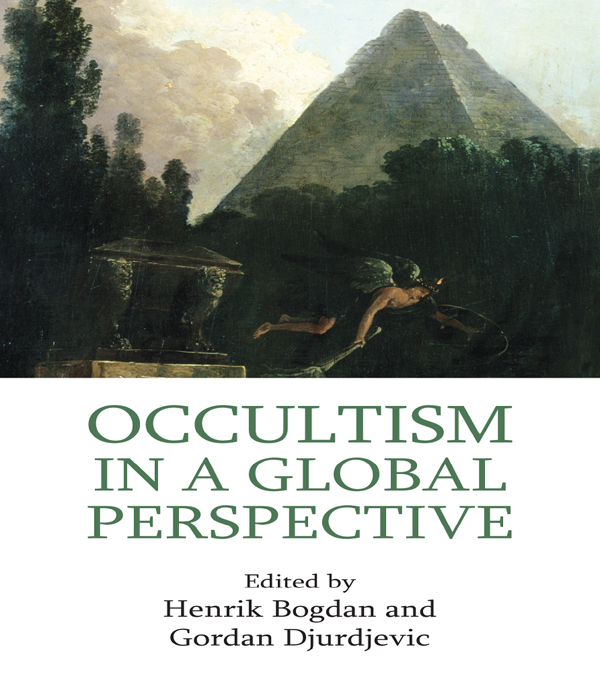Occultism in a Global Perspective