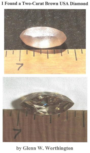 I Found a Two-Carat Brown USA Diamond