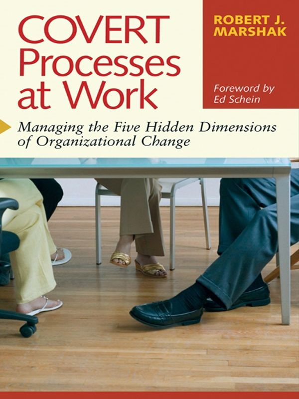 Covert Processes at Work By: Robert J. Marshak