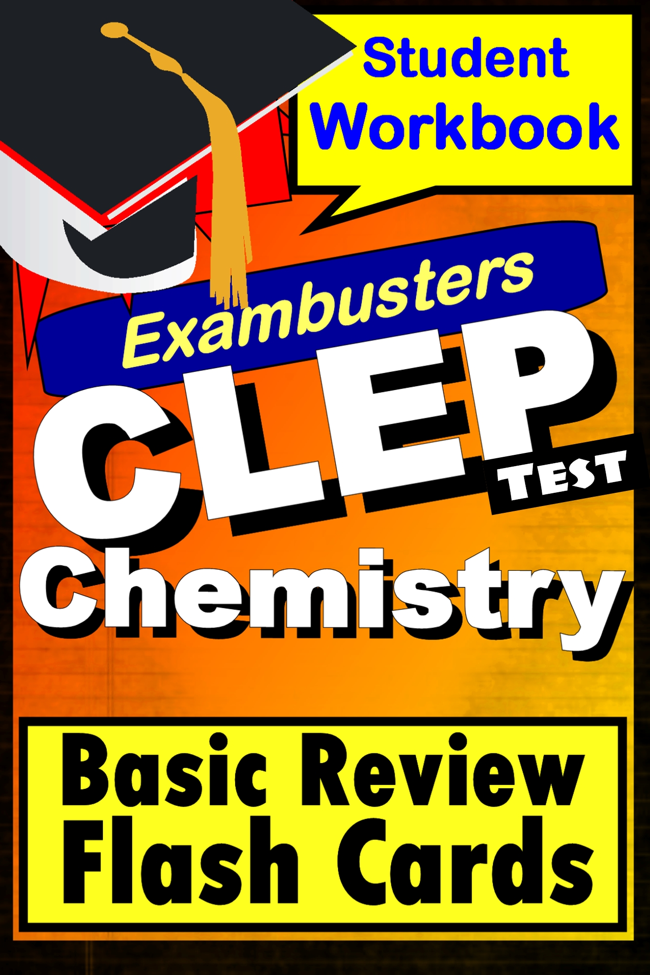 CLEP Chemistry Test--Exambusters Flashcards