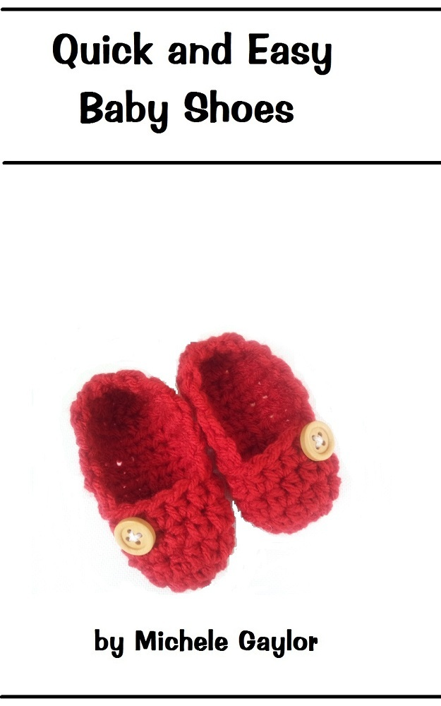 Quick and Easy Crochet Baby Shoes Pattern