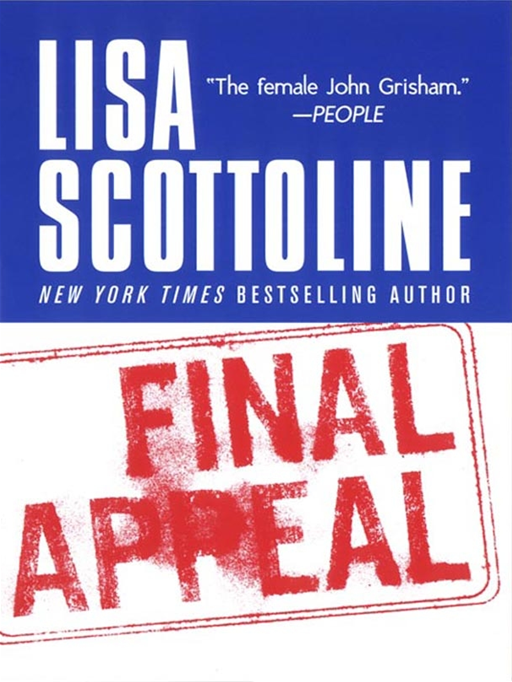 Final Appeal By: Lisa Scottoline