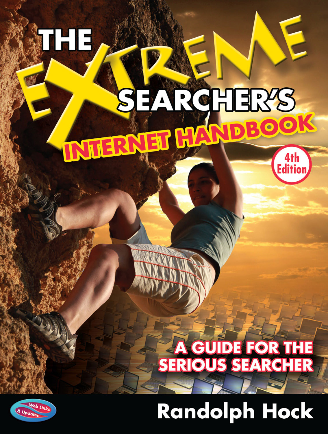 Book Cover: The Extreme Searcher's Internet Handbook