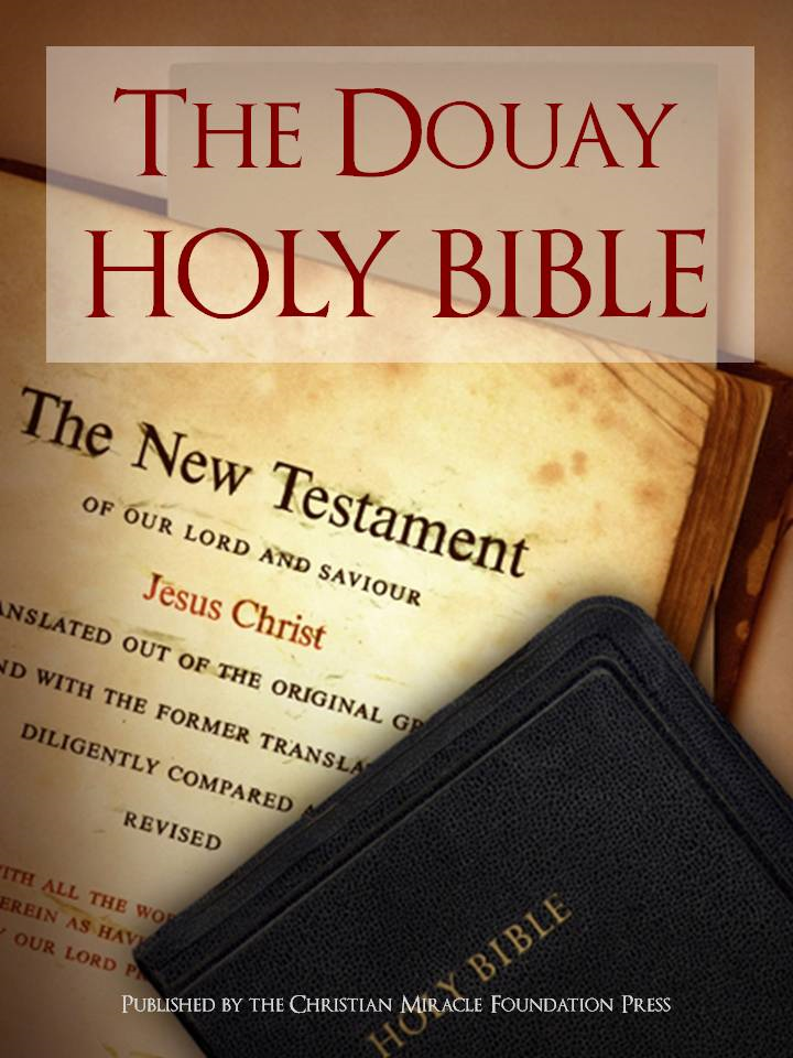 CATHOLIC DOUAY HOLY BIBLE FOR IN COLOR | THE DOUAY HOLY BIBLE FOR