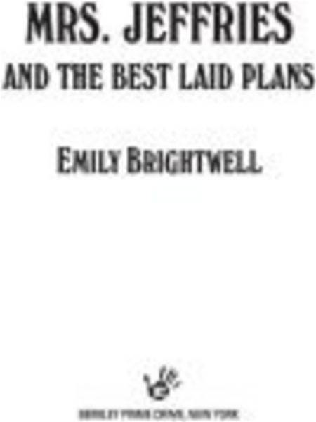Mrs. Jeffries and the Best Laid Plans By: Emily Brightwell