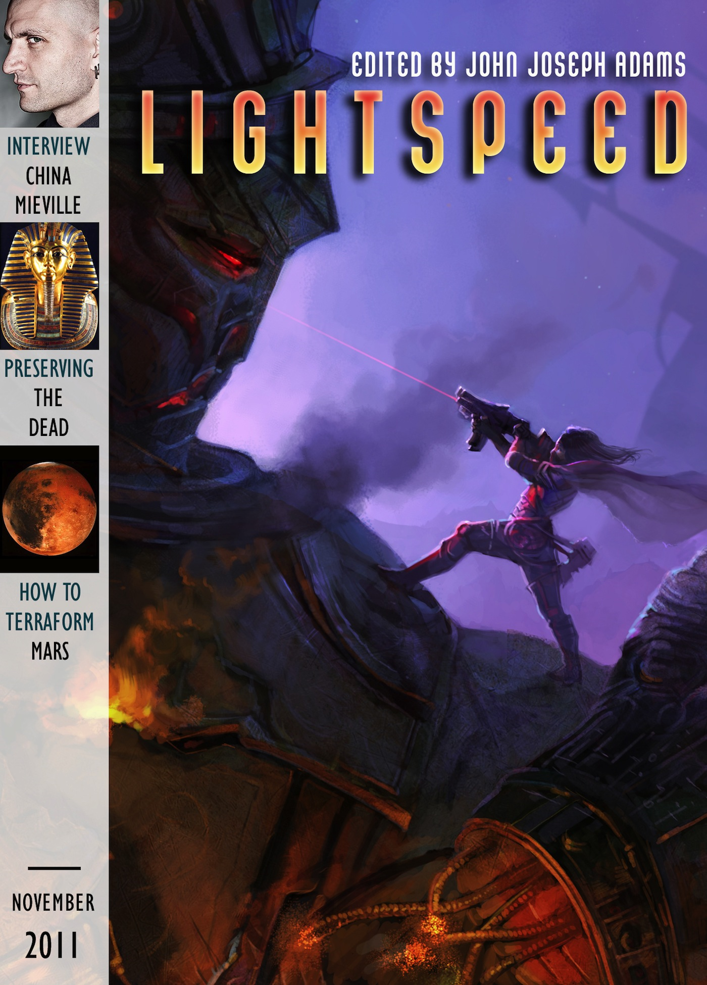 Lightspeed Magazine, November 2011
