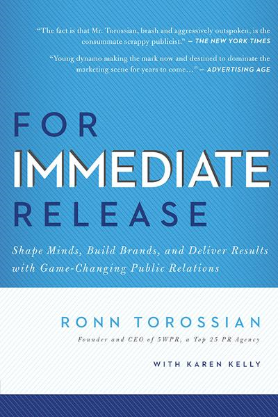 For Immediate Release By: Ronn Torossian