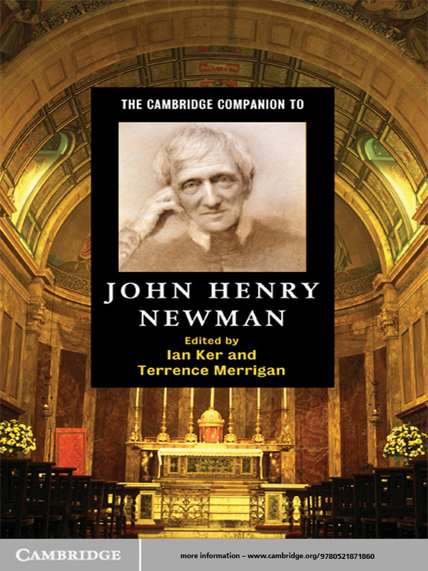 The Cambridge Companion to John Henry Newman