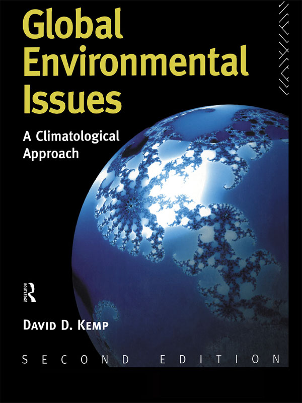 Global Environmental Issues A Climatological Approach
