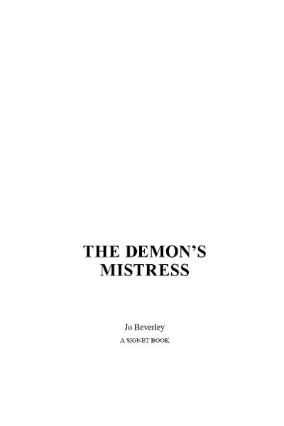 The Demon's Mistress By: Jo Beverley