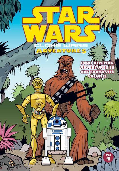 Star Wars: Clone Wars Adventures Vol. 4 By: Haden Blackman, Ryan Kaufman, Justin Lambros, Fillbach Brothers, Rick Lacy (Artist), Matt Fillbach (Artist), Shawn Fillbach (Artist)
