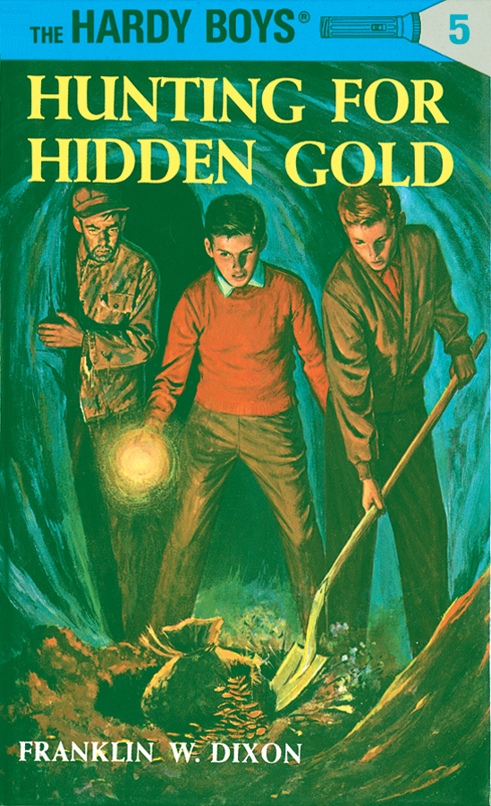Hardy Boys 05: Hunting for Hidden Gold