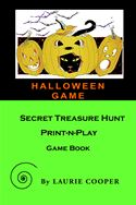online magazine -  Halloween Game: A Secret Treasure Hunt Print-N-Play Game Book
