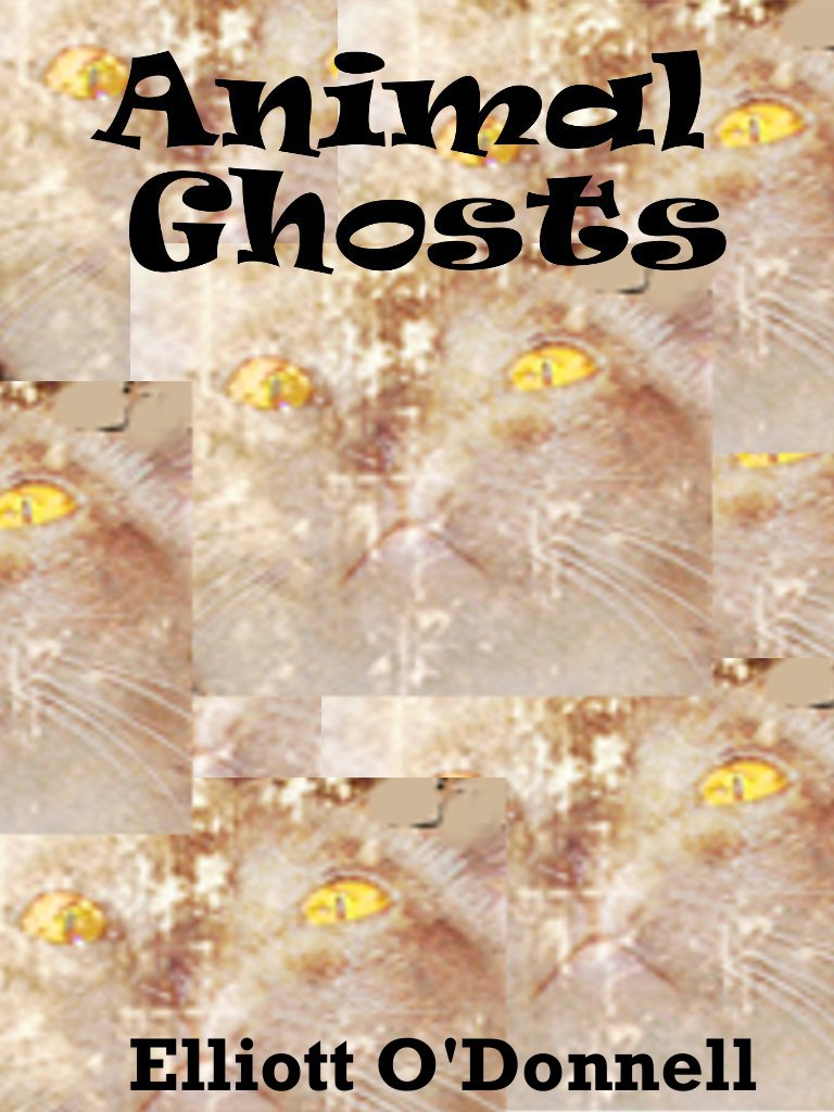 Animal Ghosts By: Elliott O'Donnell