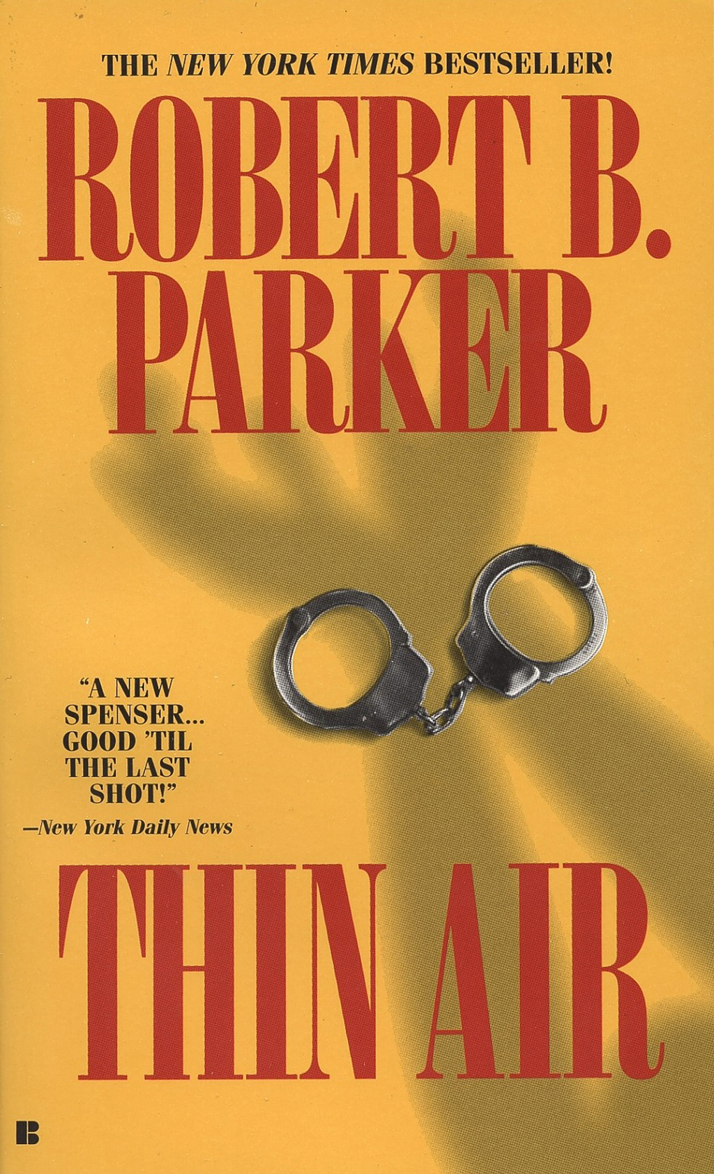 Thin Air By: Robert B. Parker