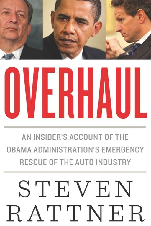 Overhaul By: Steven Rattner