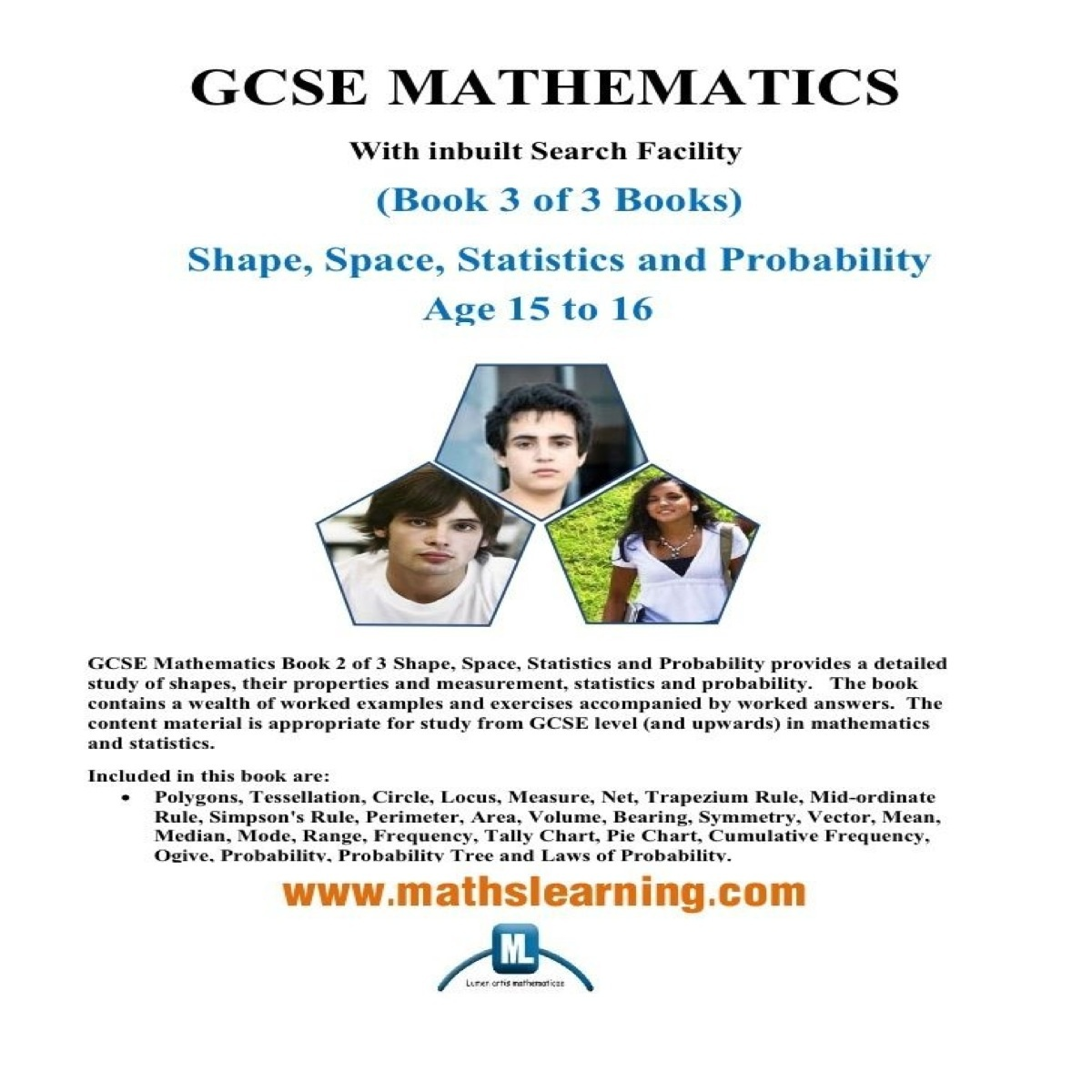 GCSE Mathematics Shape, Space, Statistics and Probability
