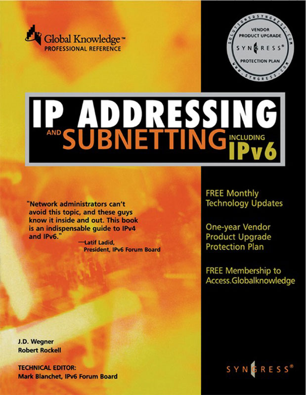 IP Addressing & Subnetting INC IPV6