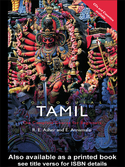 Colloquial Tamil (eBook And MP3 Pack) The Complete Course for Beginners