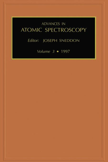 Advances in Atomic Spectroscopy, Volume 3
