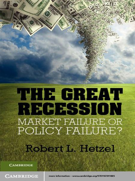 The Great Recession By: Robert L. Hetzel