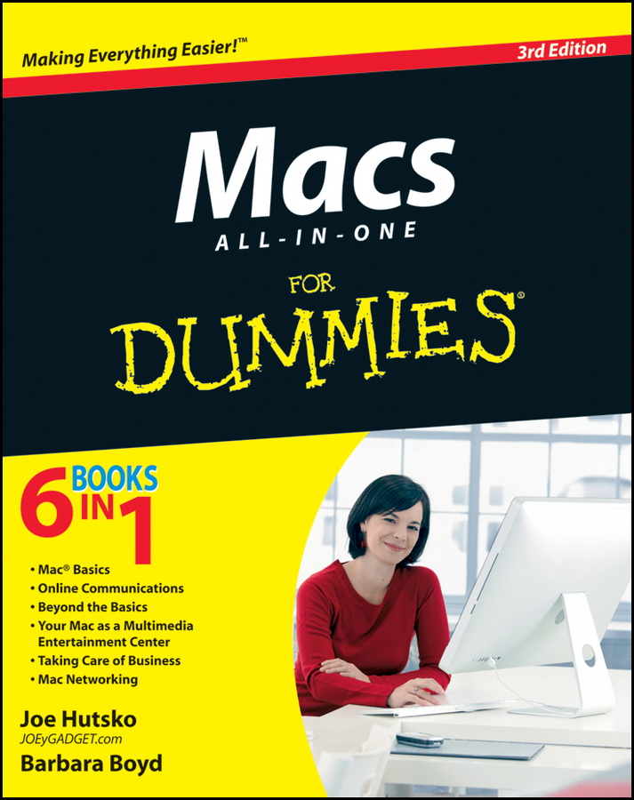 Macs All-in-One For Dummies By: Barbara Boyd,Joe Hutsko