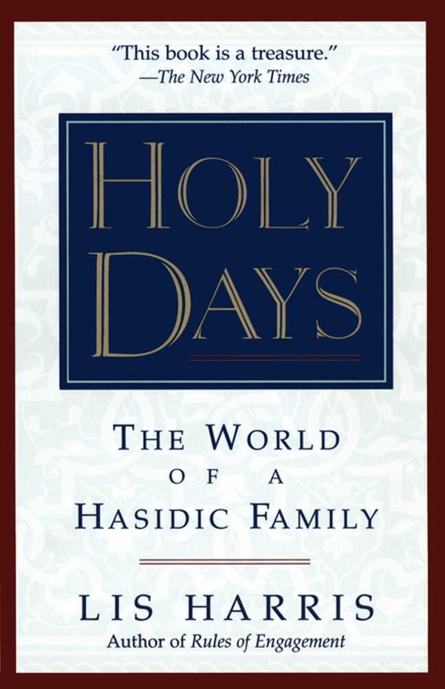 Holy Days By: Lis Harris