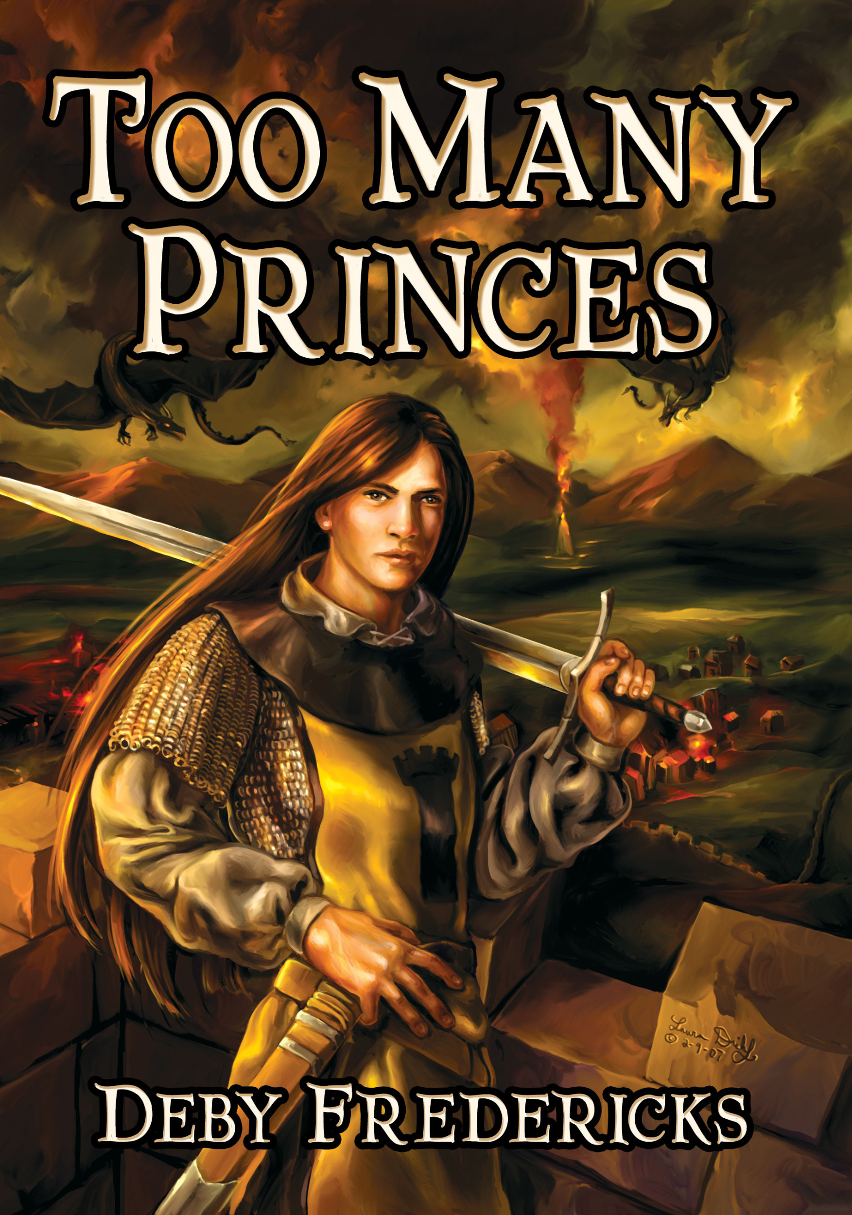 Cover Image: Too Many Princes