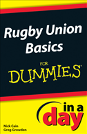 Rugby Union Basics In A Day For Dummies: