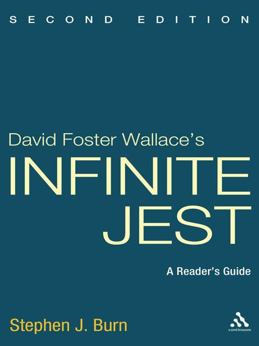 """an analysis of infinite jest by david foster wallace David foster wallace understood the paradox of attempting to write fiction that   in an essay written while he was at work on """"infinite jest,"""" wallace referred  the  coldly amused analysis of some long-dead professor emeritus."""