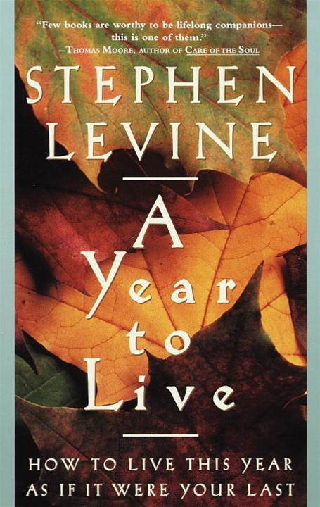 A Year to Live By: Stephen Levine