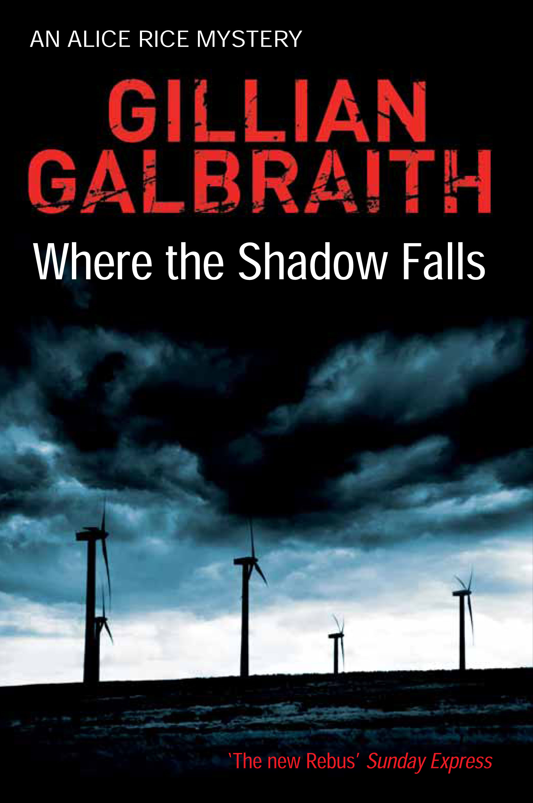 Where the Shadow Falls By: Gillian Galbraith
