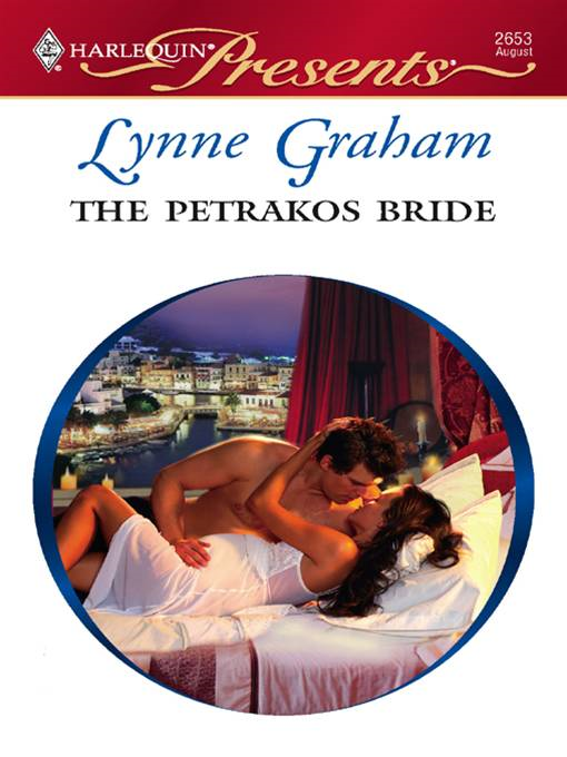 The Petrakos Bride By: Lynne Graham