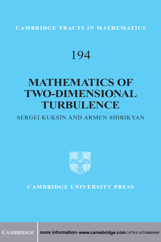 Mathematics of Two-Dimensional Turbulence