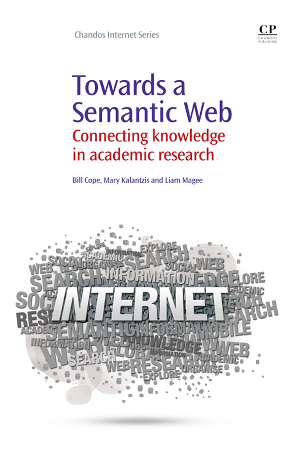 Towards A Semantic Web Connecting Knowledge In Academic Research