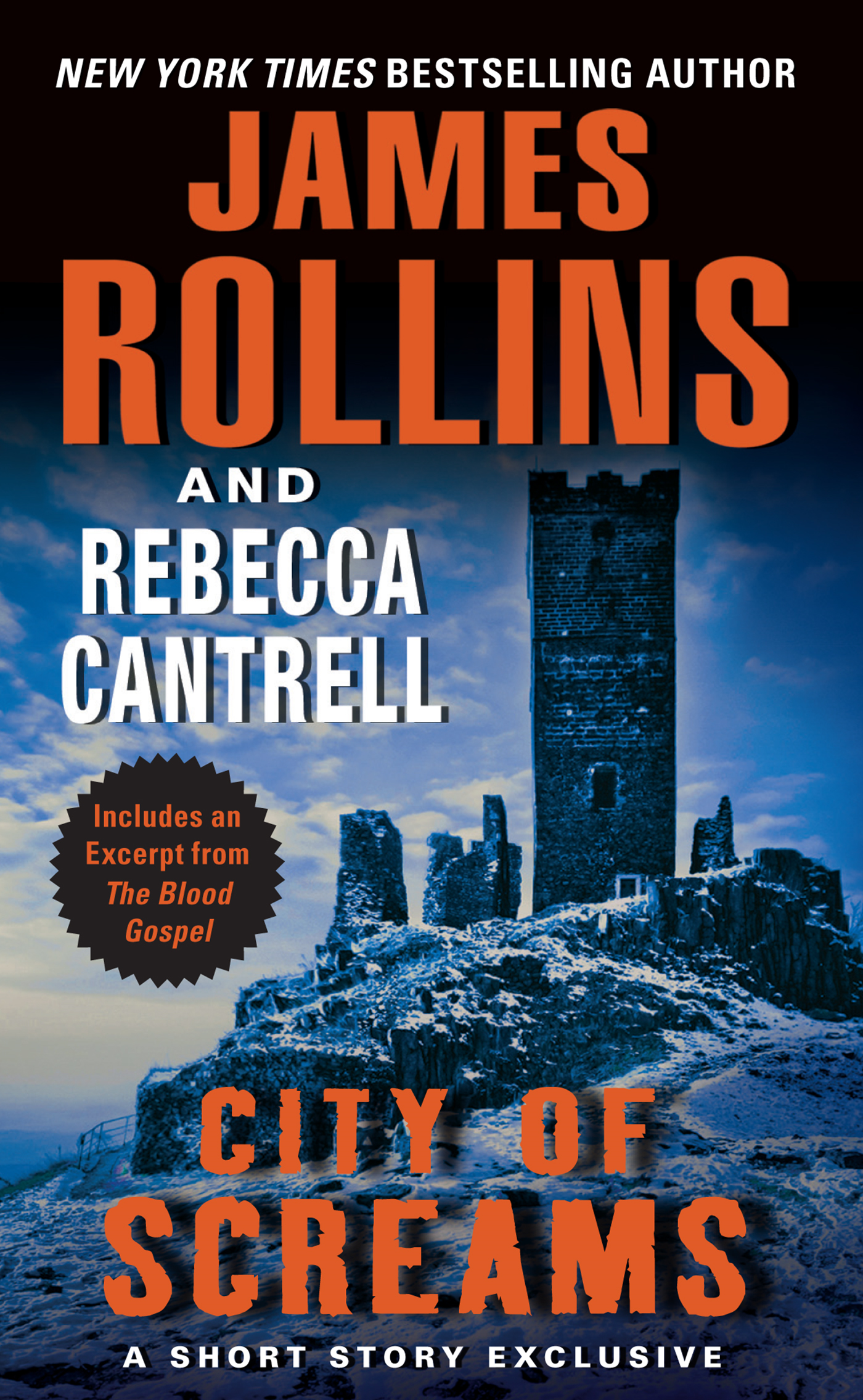 City of Screams By: James Rollins,Rebecca Cantrell