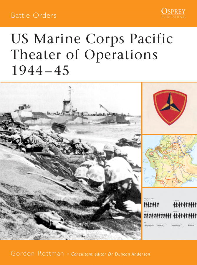 US Marine Corps Pacific Theater of Operations 1944-45 By: Gordon Rottman
