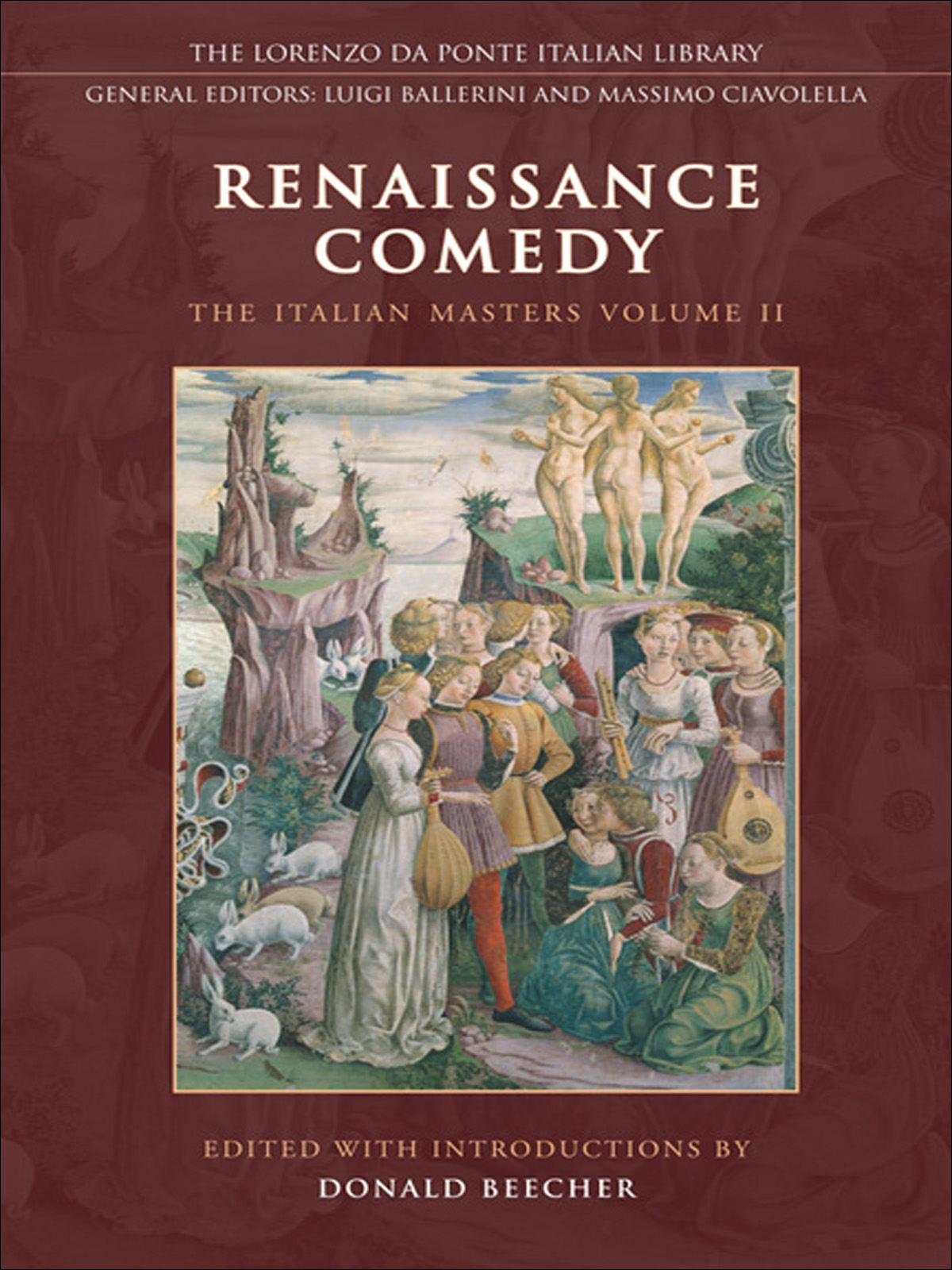 Renaissance Comedy By: Don Beecher,The Da Ponte Library