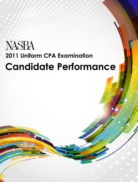 2011 Uniform CPA Examination Candidate Performance