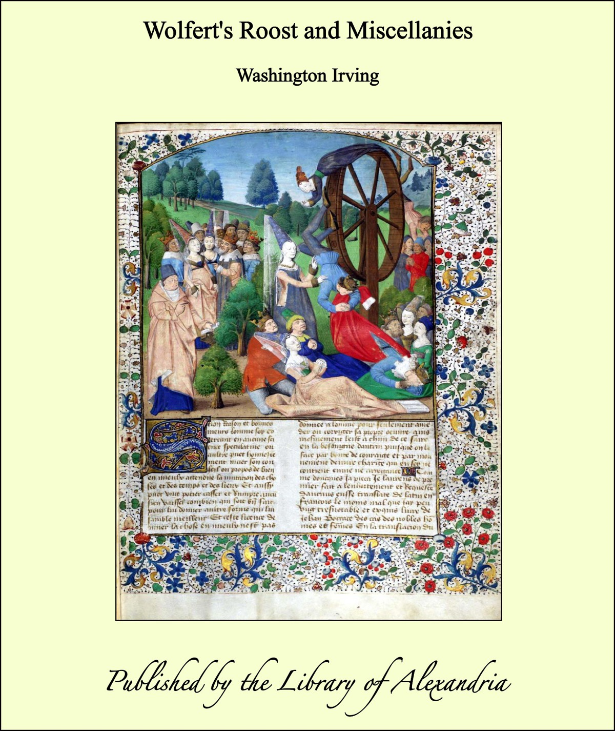 Wolfert's Roost and Miscellanies By: Washington Irving