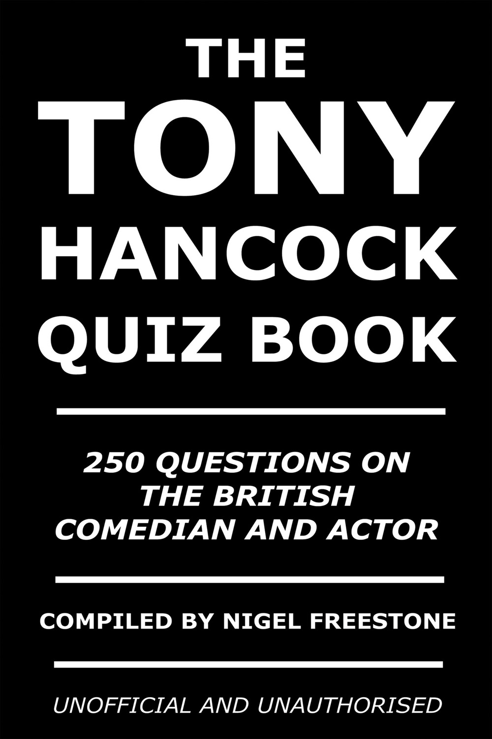 The Tony Hancock Quiz Book