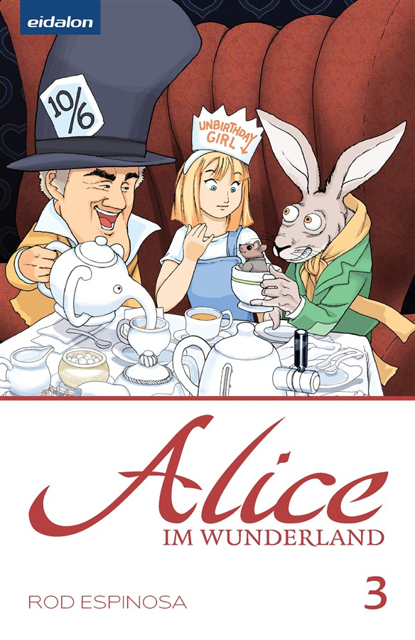 Alice im Wunderland #3 - German