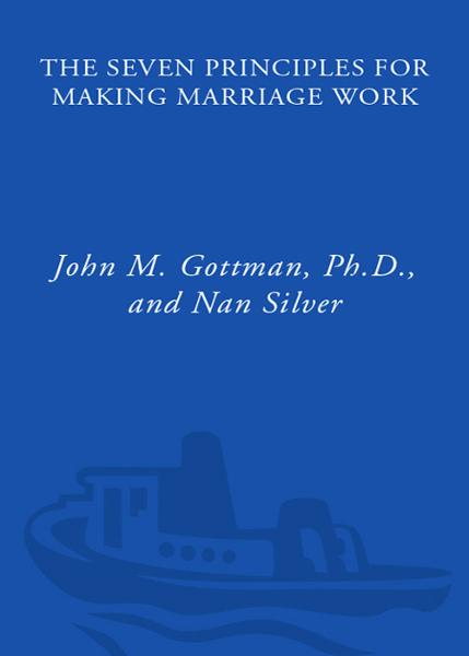 The Seven Principles for Making Marriage Work By: John Gottman, Ph.D.
