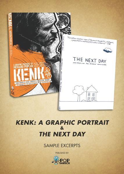 FREE Sampler: KENK & The Next Day (Pop Sandbox)