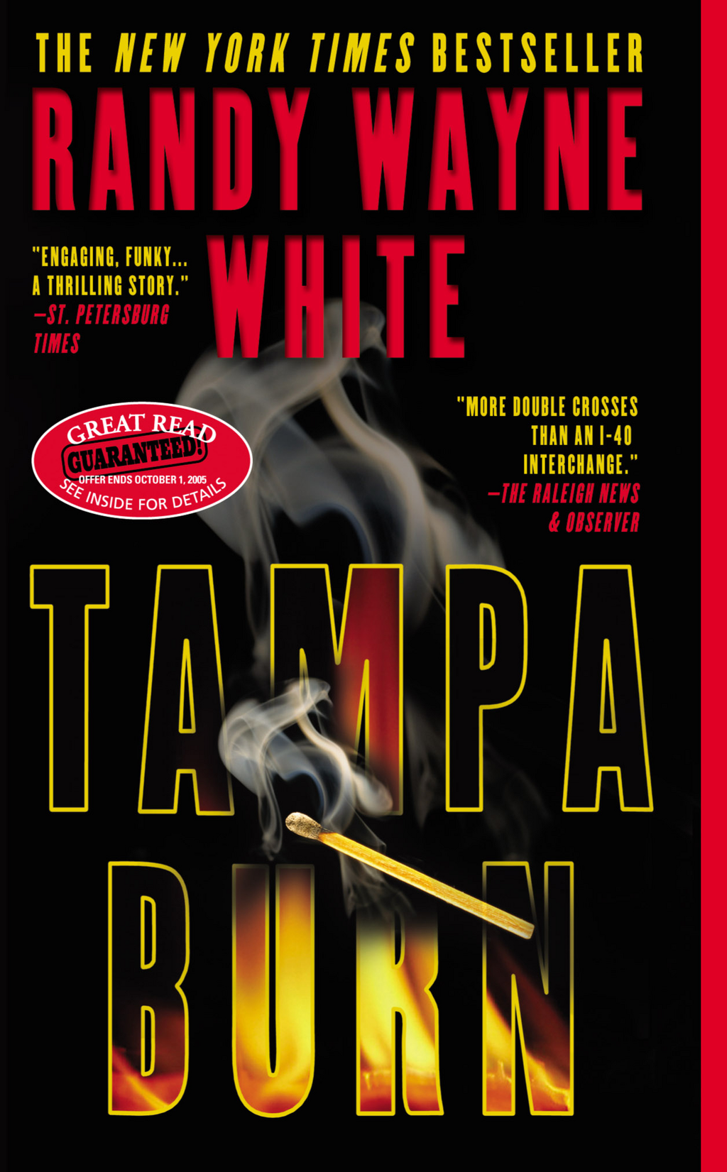 Tampa Burn By: Randy Wayne White